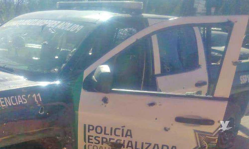 Ataque contra policías continúan en distintos municipios de Coahuila