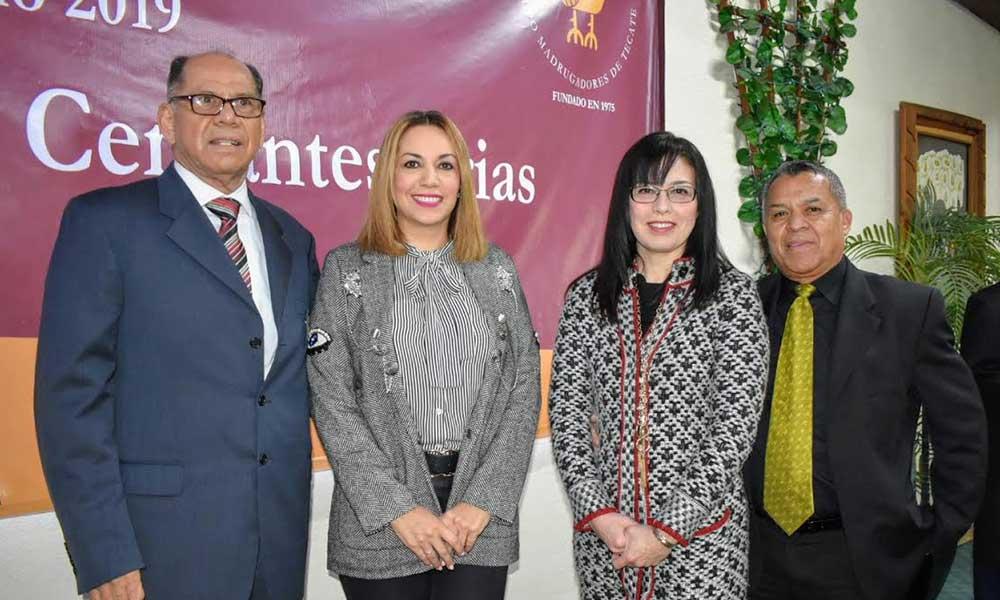 Grupo Madrugadores de Tecate designa a el Dr. David Cervantes como Forjador del año 2019