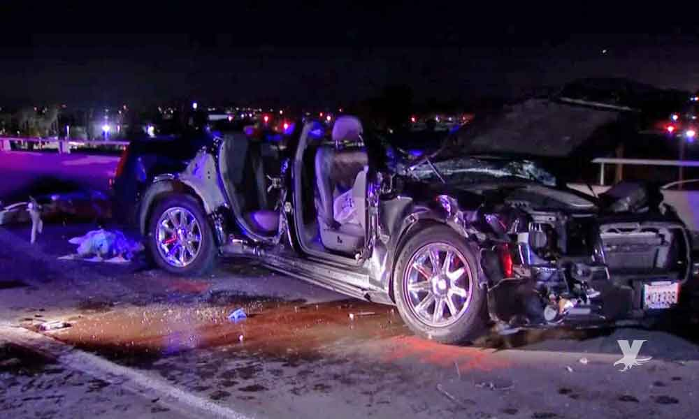 Muere joven en aparatoso accidente sobre carretera de San Ysidro