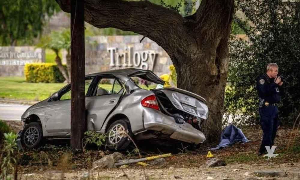 Hombre choca intencionalmente auto de jóvenes causando la muerte de tres tripulantes
