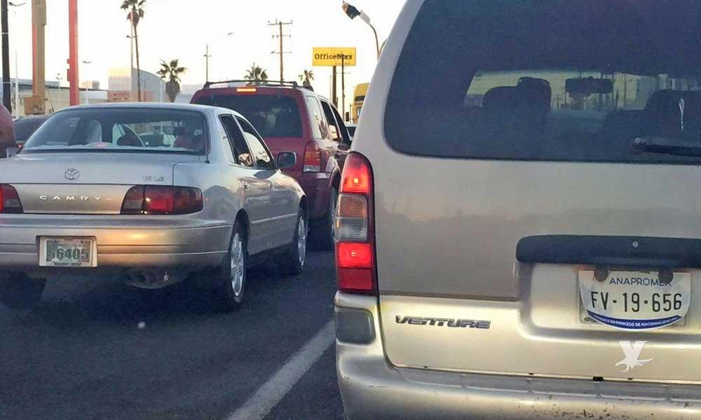 Gobierno de Baja California anuncia que iniciará campaña para decomisar automóviles con placas Anapromex y Onappafa