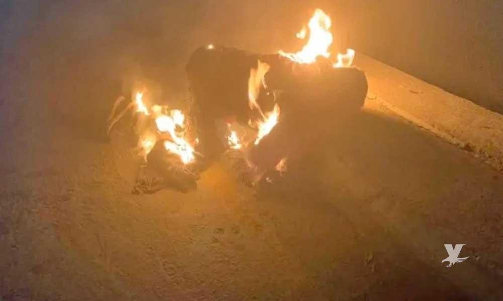 Hombre se prende fuego en la garita de San Ysidro