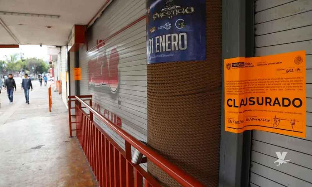 Una vez más vuelven a clausurar 'Las Pulgas' en Tijuana