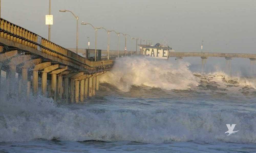 Cierran muelle de Ocean Beach tras advertencia de fuerte oleaje
