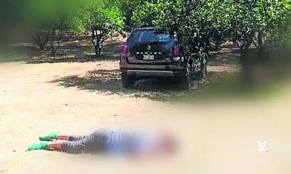 Mujer muere atropellada por su camioneta