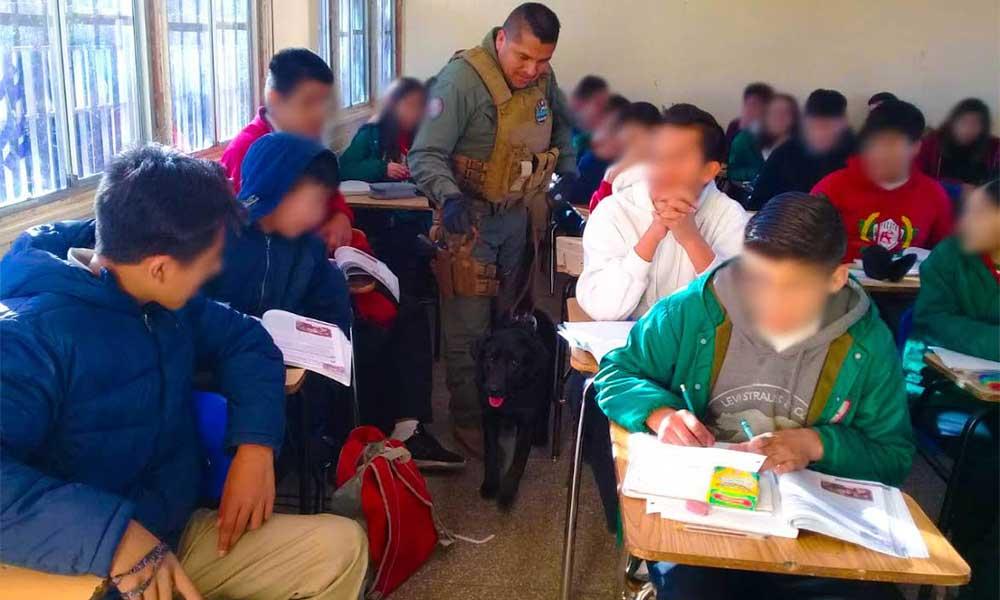 "Realizarán ""Operativos mochila"" en secundarias de Tecate"