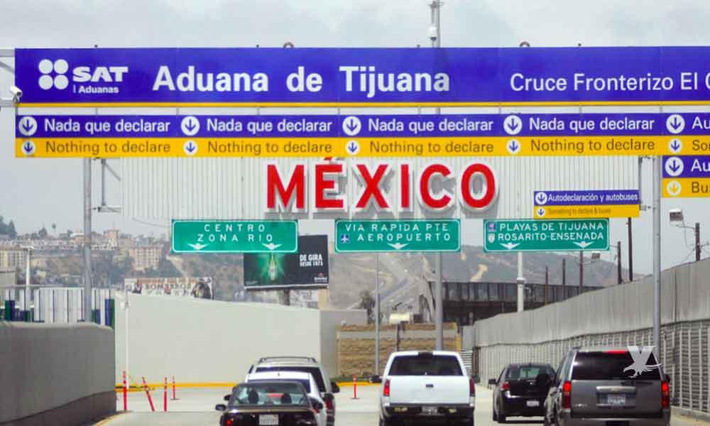 Estos productos no pueden cruzar por las garitas de California a Baja California