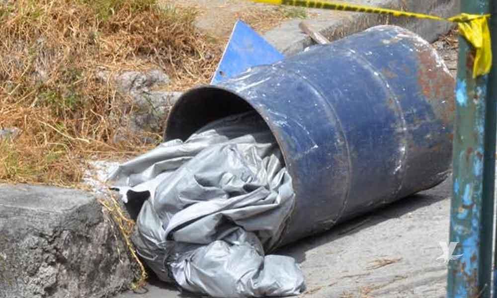 Encuentran cuerpo de un hombre dentro de un tambo en Tijuana