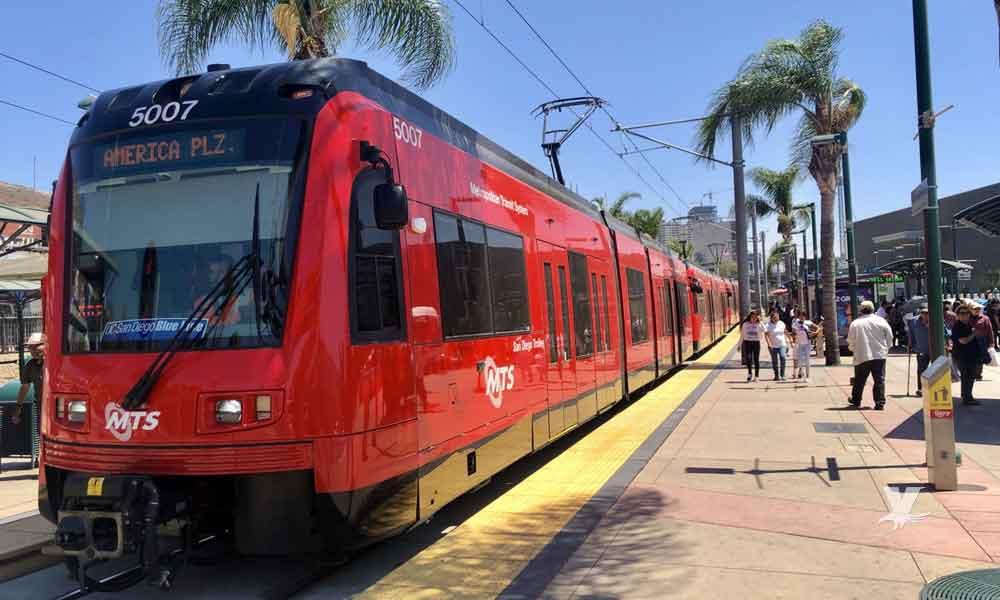 Trolley de San Ysidro dejará de funcionar los fines de semana