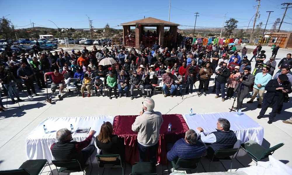Residentes de La Rumorosa eligen a Carlos Omar Cabanillas como representante comunitario ante el FIARUM