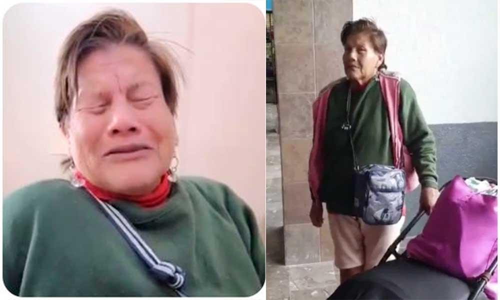 Abandona a su madre diabética, sin dinero ni documentos en la central camionera de Sonora