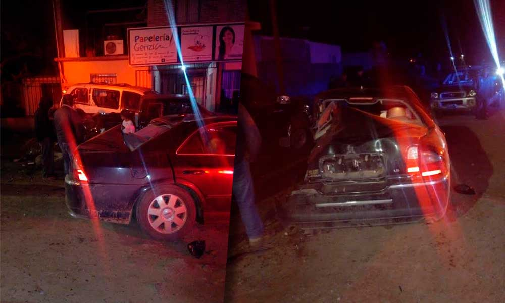 Registran accidente vehicular en Tecate