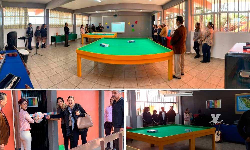 Inauguran aula STEAM en Secundaria #19 Francisco González Bocanegra en Tecate