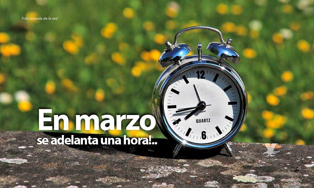Ya viene el cambio de horario de verano 2020; los relojes se cambiarán en marzo