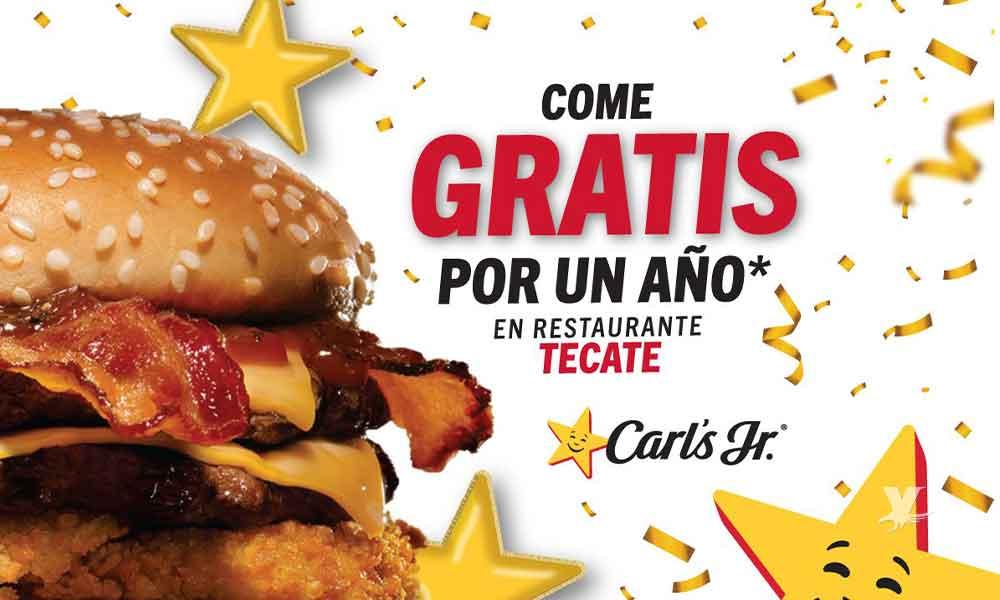 Carl's Jr regalará hamburguesas por un año a los primeros 100 en llegar al restaurante en Tecate