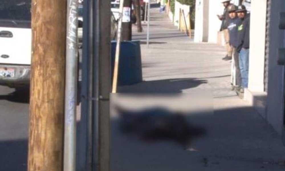 Asesinan a hombre frente a iglesia Nuestra Señora de Guadalupe en Tecate
