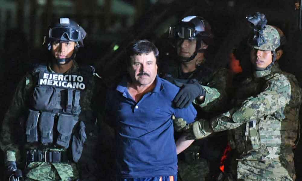 (VIDEO) Dan a conocer nuevas imágenes de la detención de 'El Chapo'