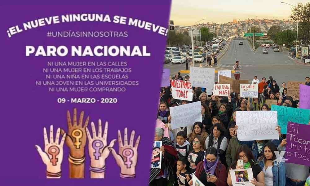 """Grupos convocan a paro nacional el 9 de marzo """"Un Día sin Mujeres"""""""
