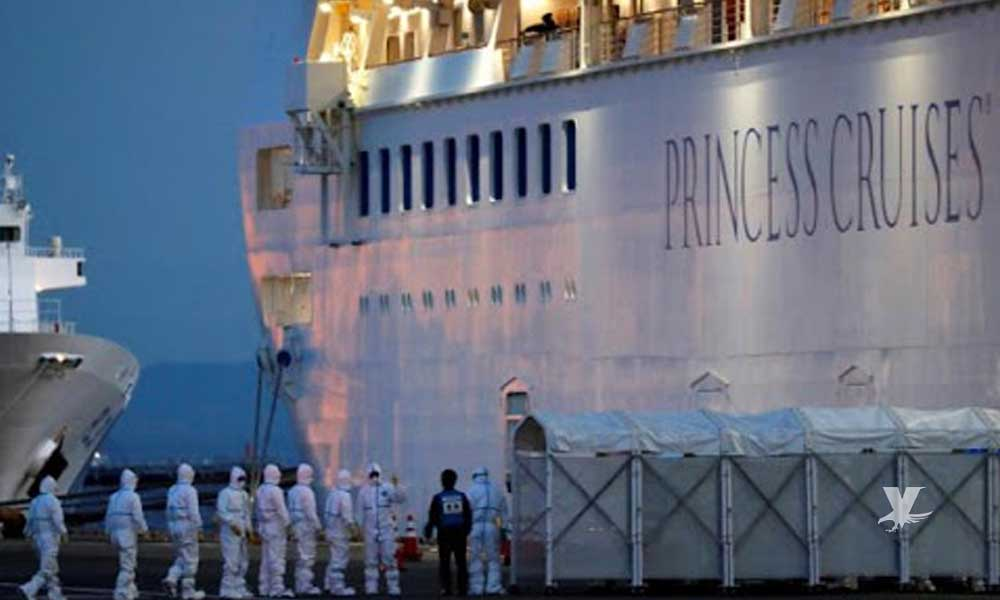Dan positivo a Coronavirus 14 estadounidenses que fueron evacuados de crucero