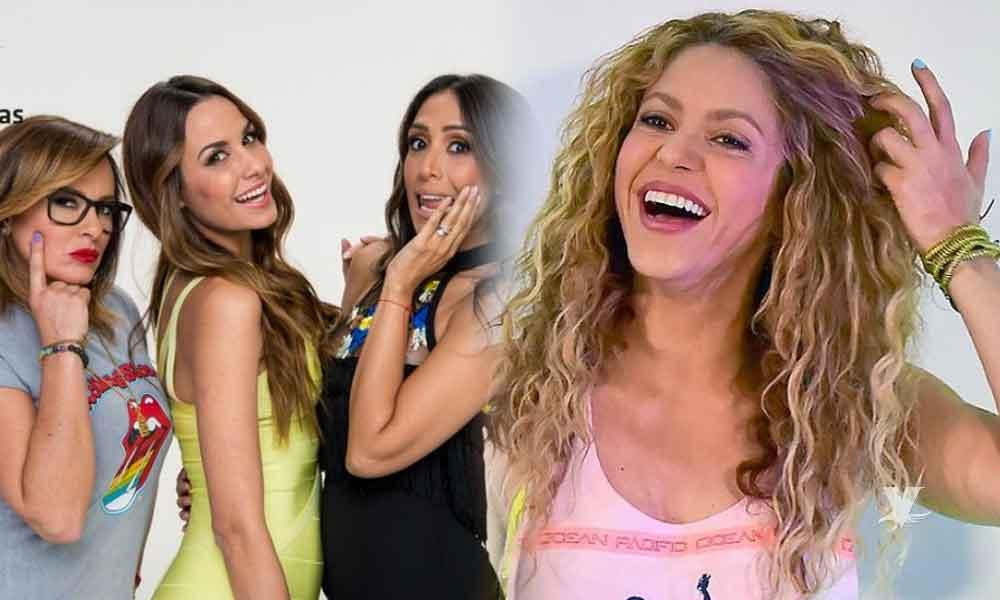 """(VIDEO) Conductoras de 'Cuéntamelo Ya' aseguran que Shakira tiene un disco llamado """"Antropología"""""""