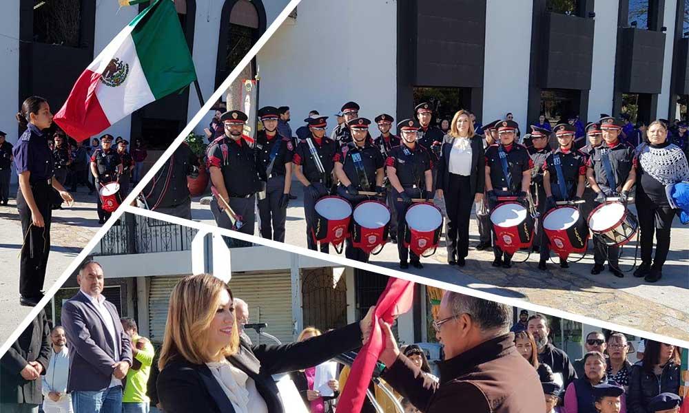 Conmemora Ayuntamiento de Tecate el 199 Aniversario de la Bandera Mexicana