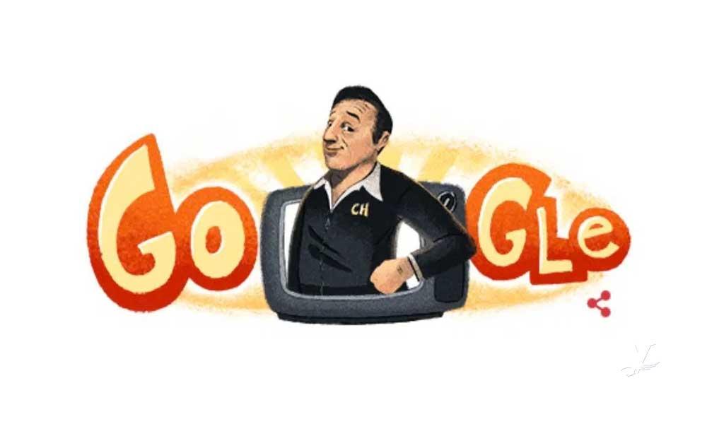 Google rinde tributo a 'Chespirito' con un doodle