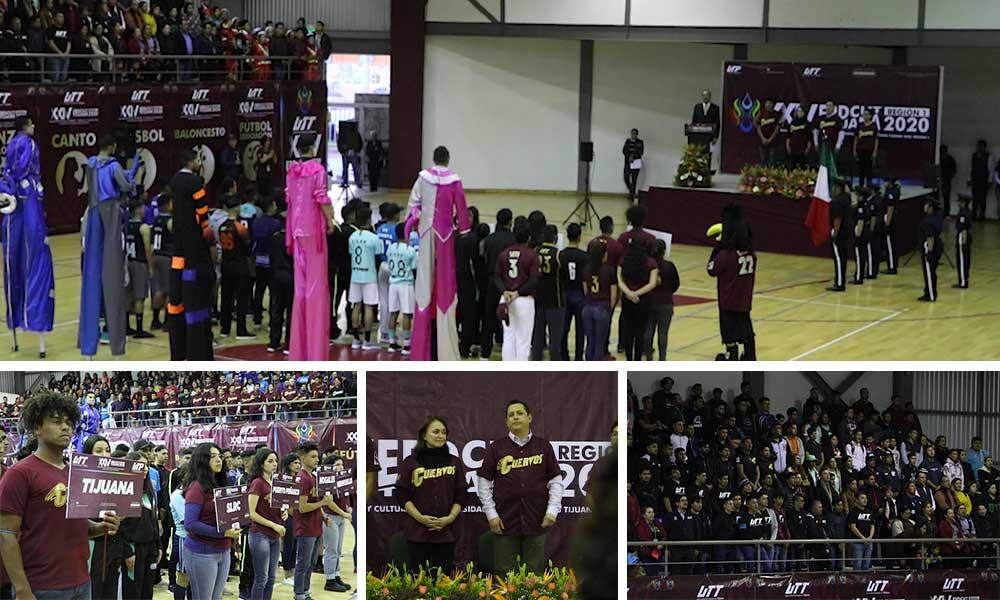 Realiza UTT el XXIV Encuentro regional deportivo y cultural de Universidad Tecnológicas y Politécnicas