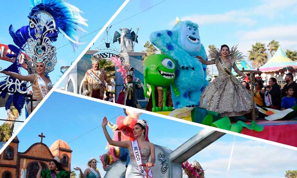 Miles de familias disfrutan del primer desfile del Carnaval de Película 2020