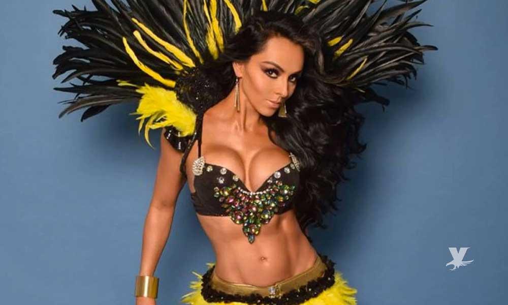 En diminuto bikini Ivonne Montero presume su belleza y le llueven piropos