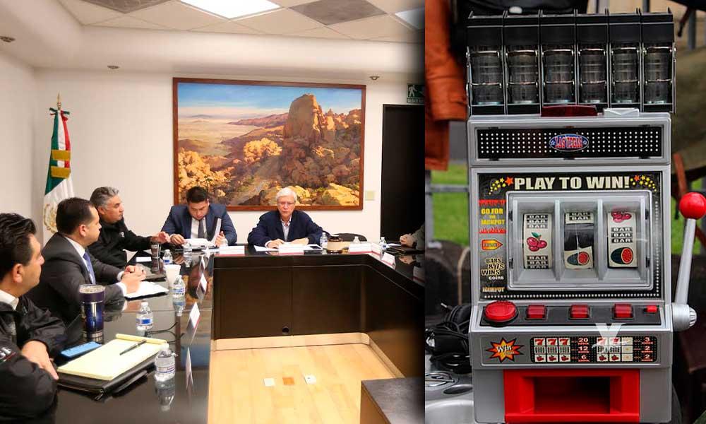"""Decomisan 183 máquinas tragamonedas tipo """"Las Vegas"""" en BC"""