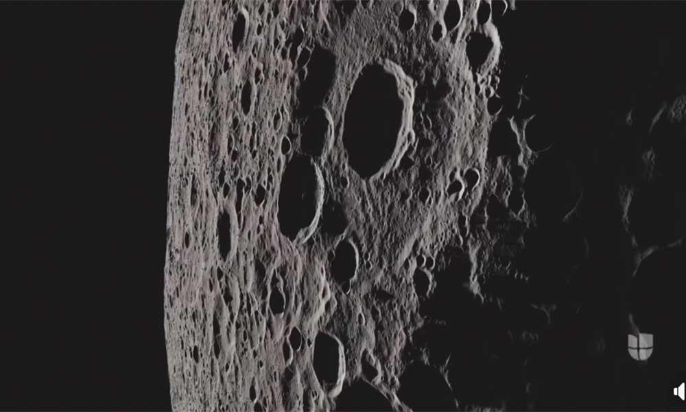 Revelan imágenes inéditas del lado obscuro de la Luna