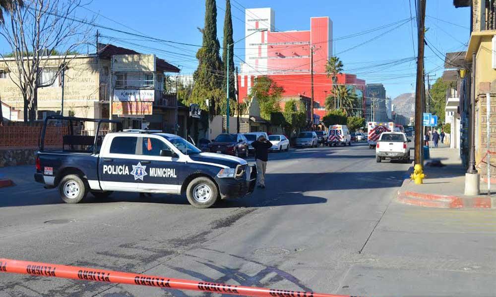 Sujeto es lesionado con arma de fuego en la zona centro de Tecate