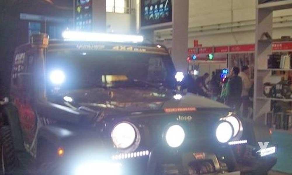 Multarán a automovilistas que utilicen luces led en Baja California