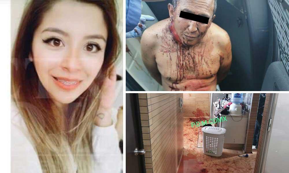 Mató a su esposa a puñaladas después la desolló y le quitó las vísceras
