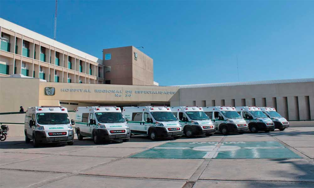 Cuenta IMSS con ambulancias nuevas en Baja Califonia y San Luis Río Colorado
