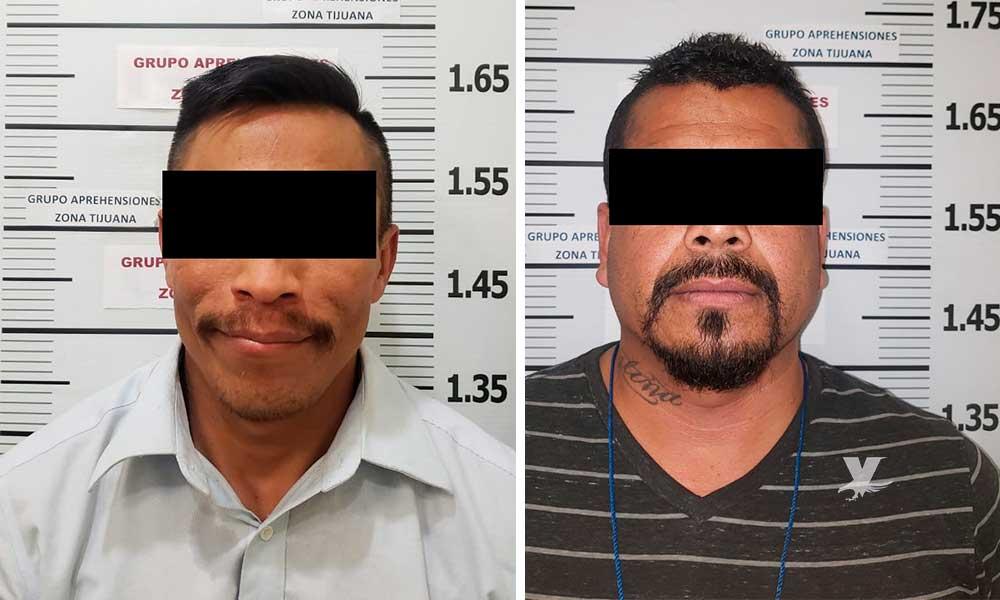 Dos detenidos en Tijuana; Uno por violación a su hija y otro por feminicidio