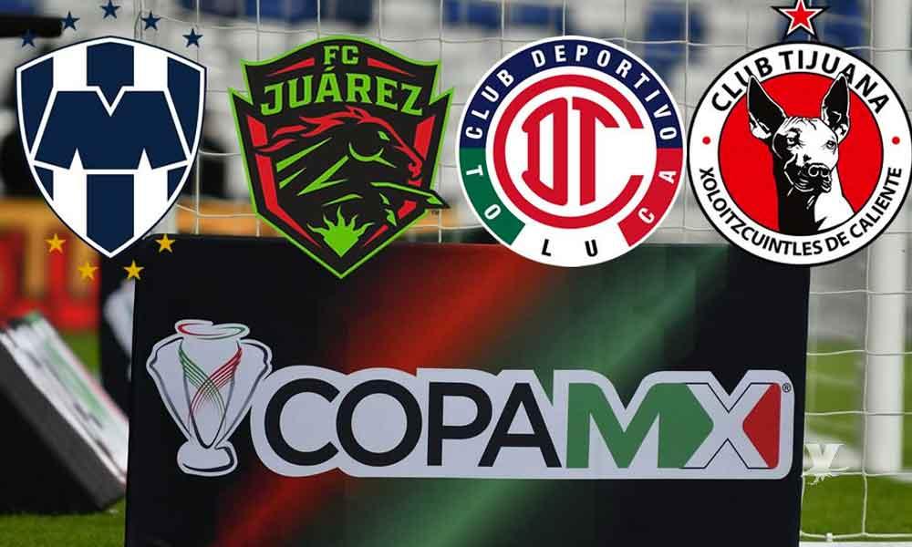 Definidos los juegos y fechas de las semifinales de la Copa MX
