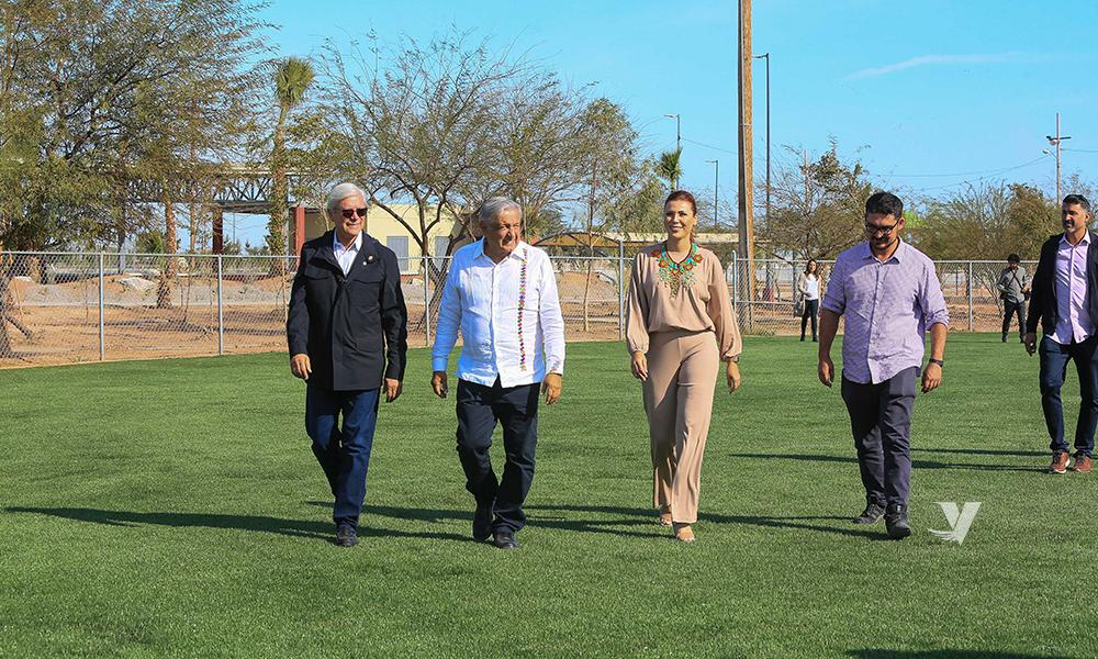 Consolidan obras de impacto a cargo del Gobierno Federal en Baja California