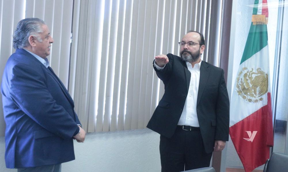 Toma protesta Amador Rodríguez Lozano a nuevo Subsecretario del Sistema Estatal Penitenciario