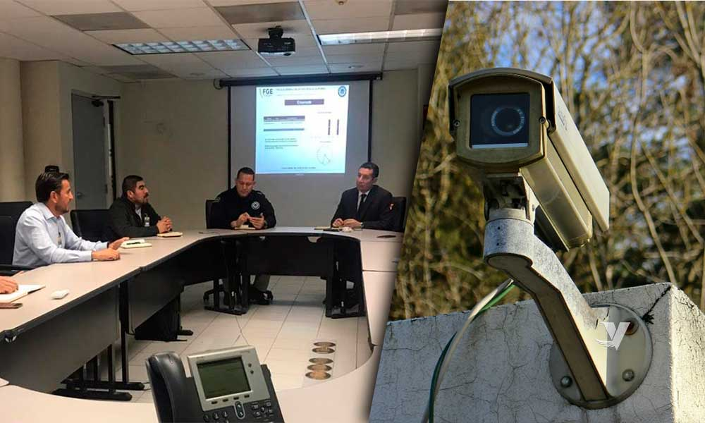 Acuerdan instalación de cámaras de videovigilancia en Bancos enlazadas a C4 en BC
