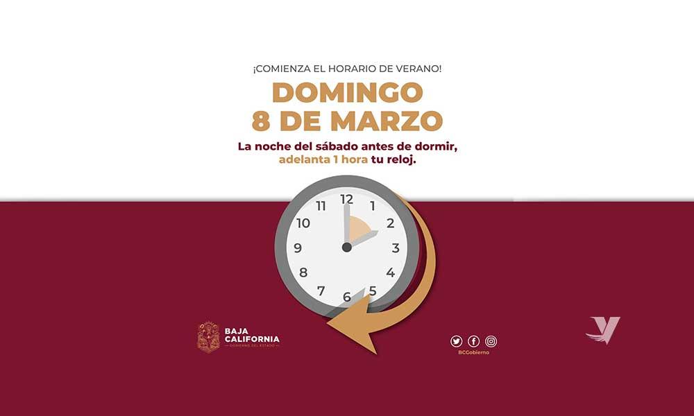 Recuerda adelantar una hora tu reloj antes de ir a dormir este sábado