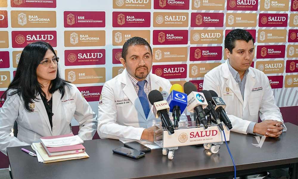 Hay 4 casos sospechosos por coronavirus en Baja California, 3 de Mexicali y 1 de Tijuana