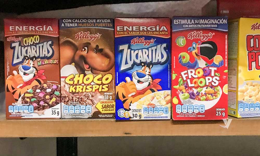Personajes animados desaparecerán de productos en México