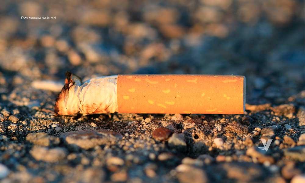 Propone Diputado sanción ejemplar a quien tire colillas de cigarro en vía pública en BC