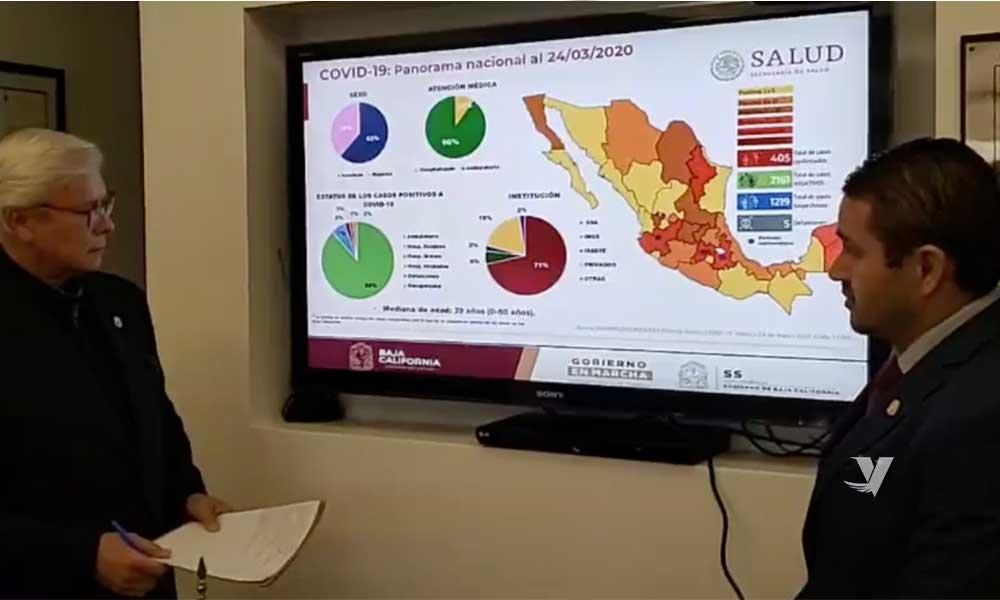 Son 16 los casos confirmados por coronavirus en Baja California, va en aumento