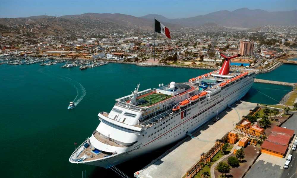 Estiman derrama de 50 millones de pesos en marzo por turismo de cruceros en Ensenada