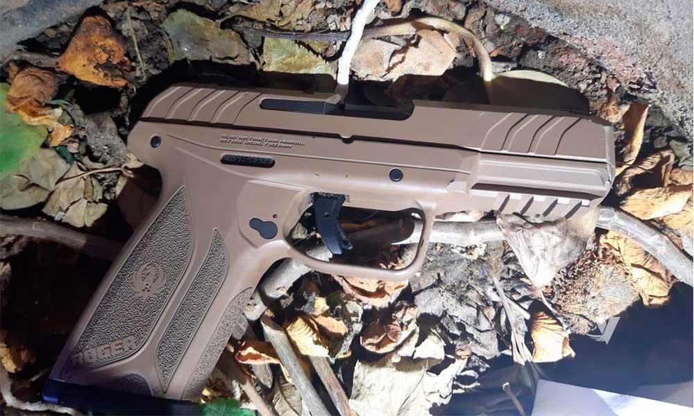 Encuentran arma de fuego cerca de oficinas de Gobierno en Tecate