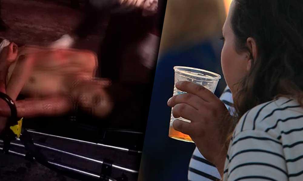 Mujer acuchilla a su esposo por que él ya no quiso ir a comprar más cerveza