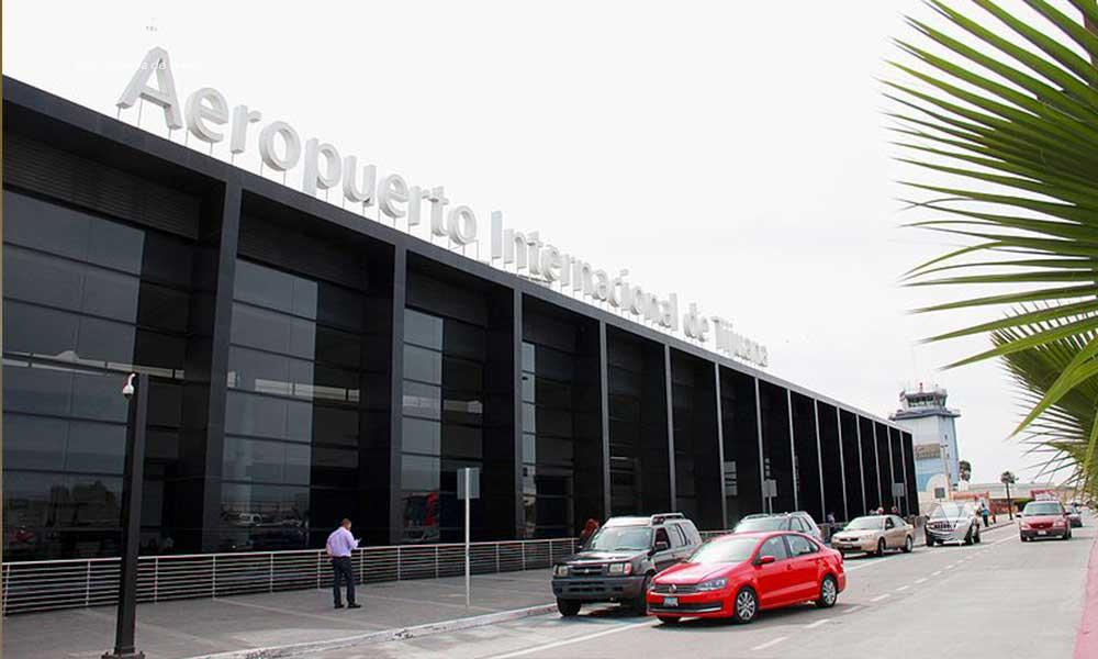 Inician los filtros en los aeropuertos de Mexicali y Tijuana por coronavirus
