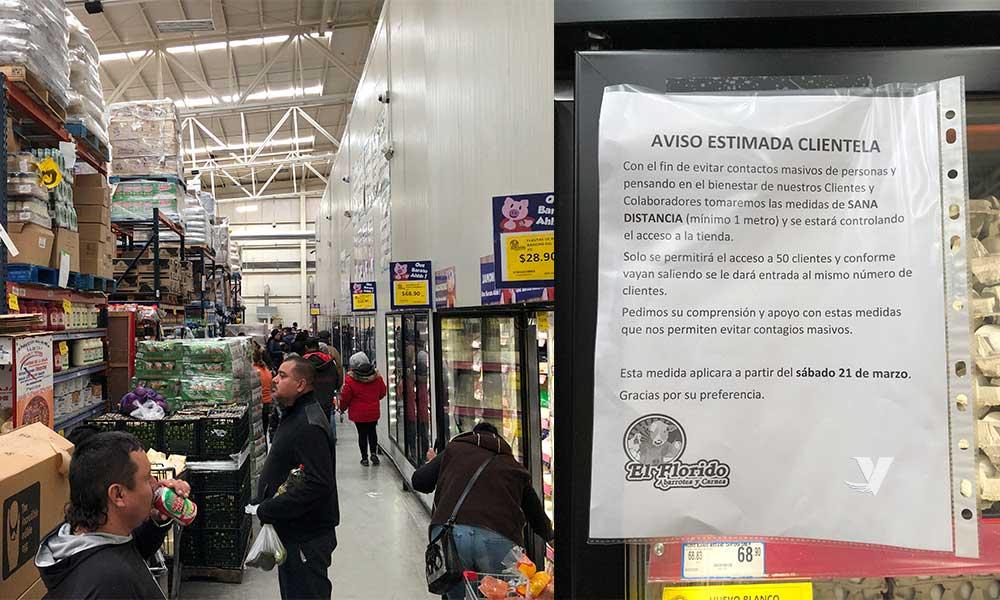 (Galería) Florido limitará el acceso de sus clientes a 50 personas